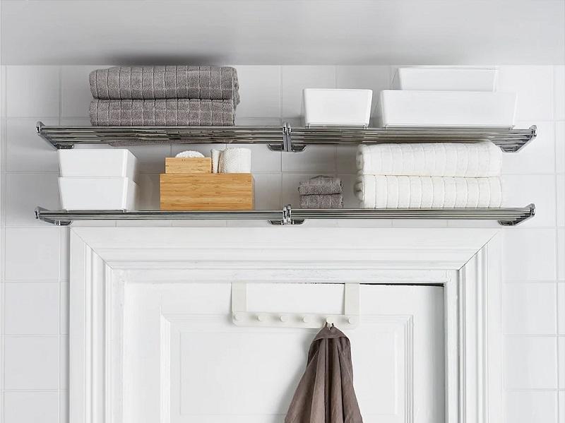 Install a Shelf Above the Door
