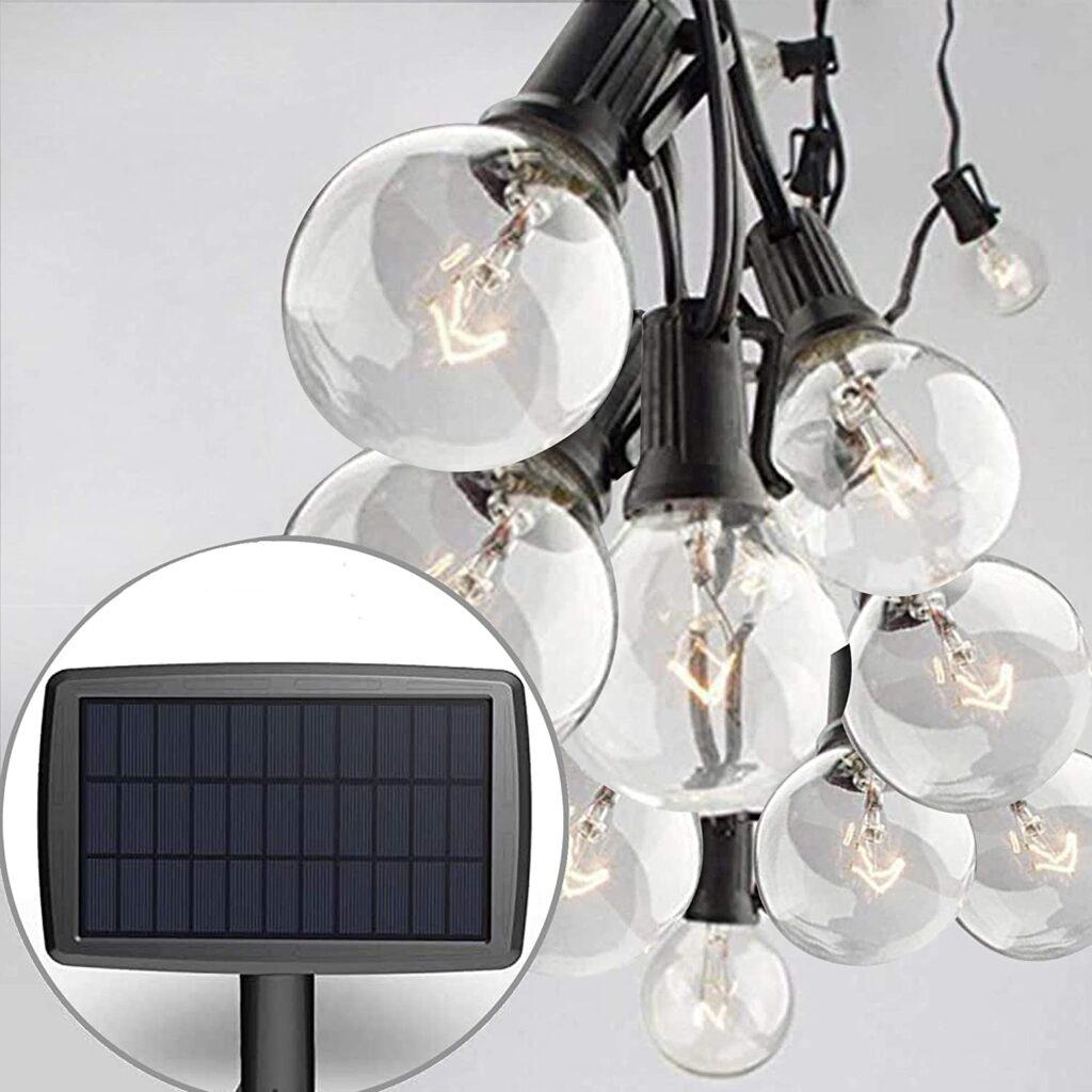Sunlitec Solar String Lights Waterproof LED Indoor