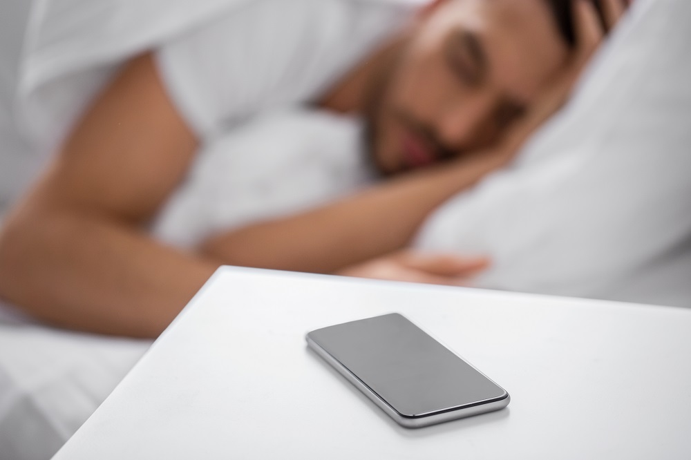 Keeping mobile device away from your bed